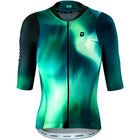Biehler DSGN.LAB Performance Koszulka rowerowa z zamkiem błyskawicznym Kobiety, tie dye